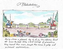 Pleasantries. Sketchbook