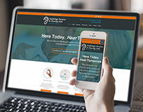 Audiology Services and Hearing Aids - Website Design