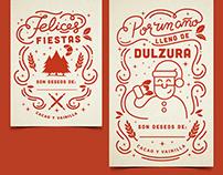 Tarjetas Navideñas, Panadería/ Christmas Cards Bakery