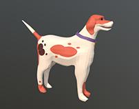 English Foxhound Model