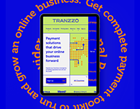 Tranzzo Payment System. Branding and Web Design Concept
