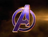 Free 3D Superhero Logo mockup