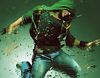 Dispersion Effect Photoshop Action