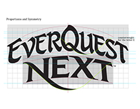 EverQuest Next Logo Usage Manual and Metric