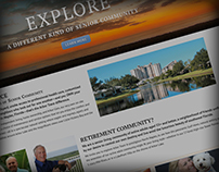 Arbor Trace Website design