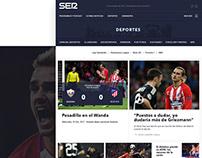 Redesign Web radio newspaper Cadena SER