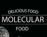Banners for new special molecular menu.