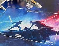 Star Wars: The Rise of Skywalker Stamp Collection