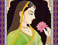 Maharani - Indian Painting