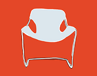 An Illustrated Guide to Iconic Modern Chairs