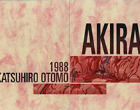 AKIRA: Graphic Booklet