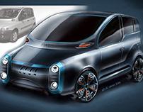 Fiat Mulitpla EV 2020