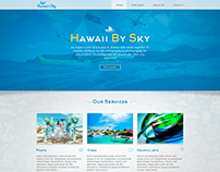 hawaii by sky wordpress website