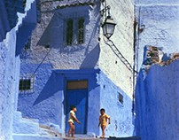 Lost in Chefchaouen Streets