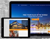 WEBHOMES - responsive design