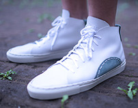 Handmade Leather Sneakers