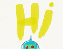 when robots say hi