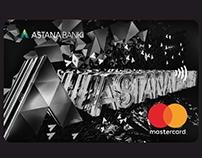Дизайн карт ASTANA BANKI