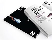 Nike Promotional Brochure Layout Design