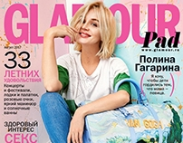 GLAMOUR RUSSIA Cover Story