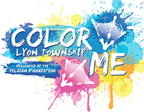 Color Me Lyon Township Logo