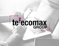 Telecomax Group Logo Retouch & Branding kit