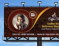 Coffee Billboard Template