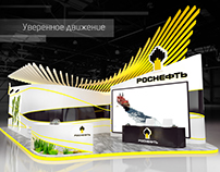 Exhibition stand for ROSNEFT