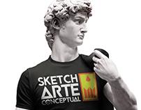 Sketch Arte Conceptual - Manual de marca