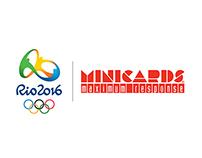 Minicards®   Rio2016