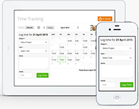 Moneypenny Time Tracking App