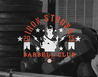 Iron Strong Barbell Club - ID & Branding Project