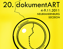Visual Identity for 20 Dokumentart