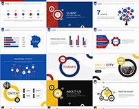 2 in 1 Best Classic business Report PowerPoint template