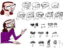 Animation Character Designing..