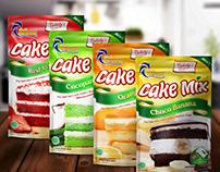 ETHOZ CAKE MIX PACKAGING