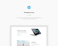 HP Redesign Concept In Minimalism