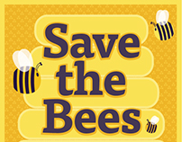 Save the Bees — Social Content
