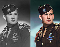 "Lynn D. ""Buck"" Compton, Band of Brothers."