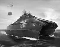 Vehicle design - naval concepts