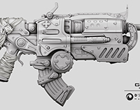Gear of War-Gun