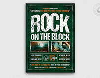 Rock Festival Flyer Template V1