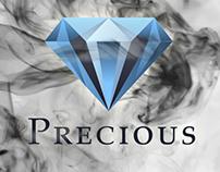 Logotype for Precious Vape Shop