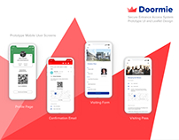UI and Leaflet Design for Doormie