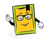 mult character book / мульт персонаж книга