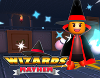 Wizards Mayhem Arena (Android Game)