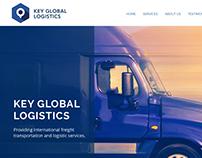 Key Global Logistics - Website Design