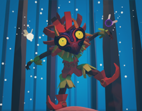 Low Poly – Skull Kid
