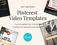 Canva Pinterest Video Templates
