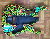 Custom Painted Guitar Body